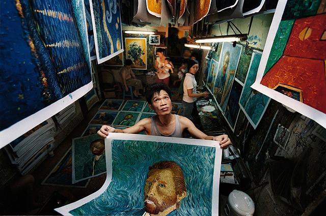 世界で一番ゴッホを描いた男