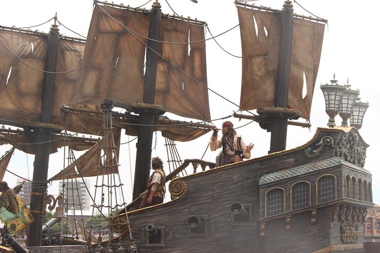 TDS海賊ショー体験レポート