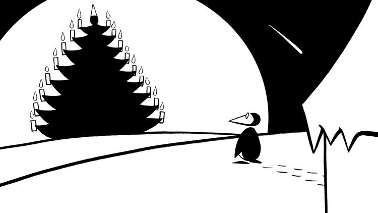 ペンギンのクリスマス