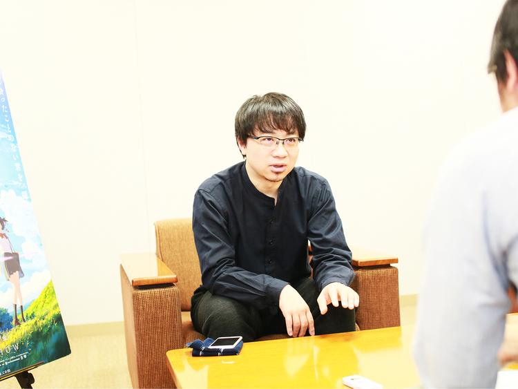 新海誠監督取材1