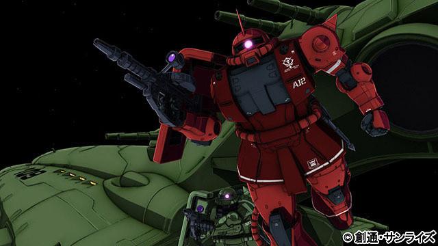 機動戦士ガンダム THE ORIGIN 誕生 赤い彗星01