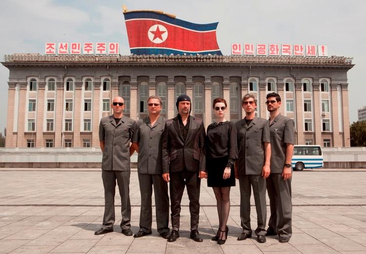 北朝鮮をロックした日