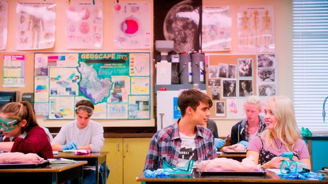 リアム16歳、はじめての学校