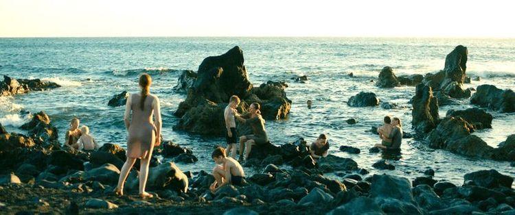 海岸と子ども